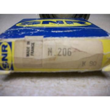 SNR N206 Cylindrical Roller Bearing