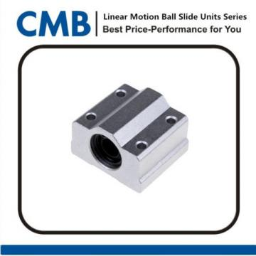 SC8UU SCS8UU Linear Motion Ball Bearing Slide Unites Bushing 8mm Brand New