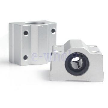 2 X SC8UU Linear Motion Ball Bearing Slide Unites Bushing 8mm SCS8UU Block TW