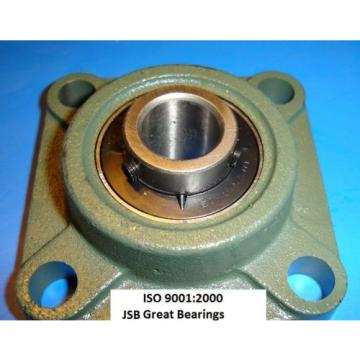 "1/2"" UCF201-8 Quality Pillow block bearing units ucf  201 square flange"