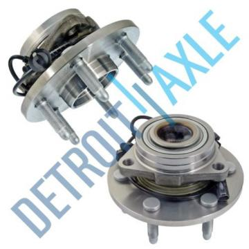 Set (2) New Front Wheel Hub & Bearing Assembly for Silverado 1500 Sierra - 4x4