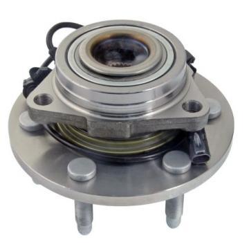 Set (2) New Front Wheel Hub & Bearing Assembly for Silverado 1500 Sierra - 4x4
