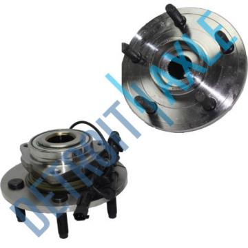 2 NEW Front Wheel Hub and Bearing with ABS for Dodge Ram 1500 thru 12/07/08