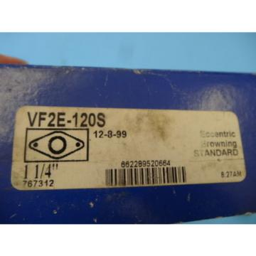 "Eccentric Browning 1 1/4"" Bearing Units Standard VF2E-120S"