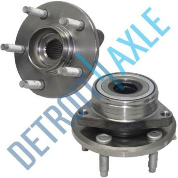 Pair: 2 New FRONT Wheel Hub and Bearing Assembly Sable Ford Taurus Continental