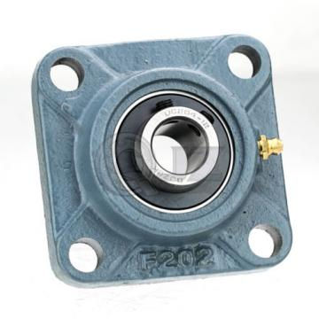 1.4375 in Square Flange Units Cast Iron UCF207-23 Mounted Bearing UC207-23+F207