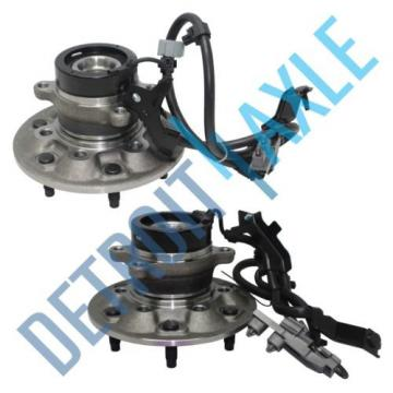 Set of (2) New FRONT Driver and Passenger Wheel Hub and Bearing w/ ABS - 2WD