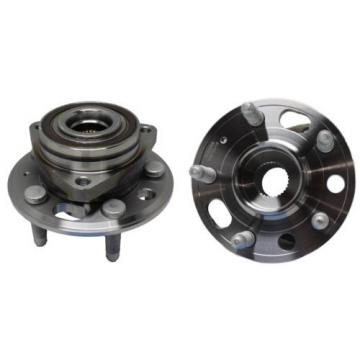 Pair (2) New FRONT Wheel Hub and Bearing Assembly Chevy Equinox GMC Terrain ABS