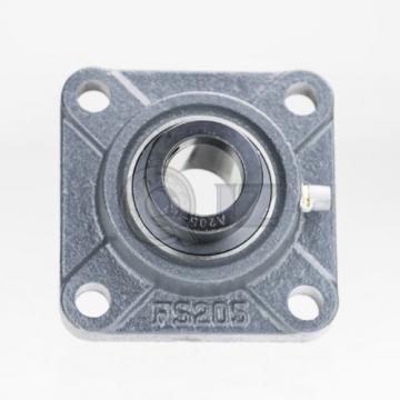 2x 1/2 in Square Flange Units Cast Iron HCFS201-8 Mounted Bearing HC201-8+FS204