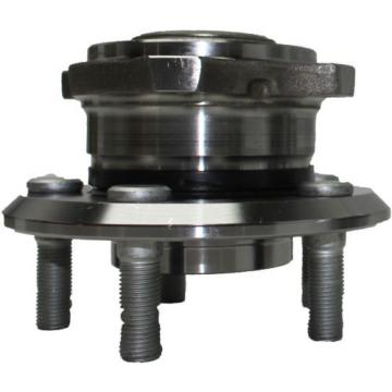 Set of (2) New Front Driver & Passenger Wheel Hub & Bearing Assembly for Journey