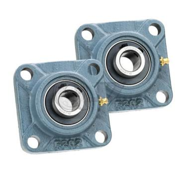 2x 7/8 in Square Flange Units Cast Iron UCF205-14 Mounted Bearing UC205-14+F205