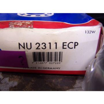 NEW SKF NU2311ECP SINGLE ROW CYLINDRICAL ROLLER BEARING