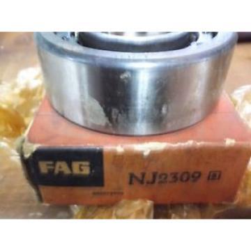 NJ2309 NOS FAG Cylindrical Roller Bearings