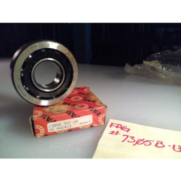 FAG 7305B.TVP.UA Angular Contact Ball Bearing - 40 Degree - Fush brnd