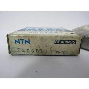 NEW NTN 7206 BL1G 00-10 BEARING DX ANGULAR CONTACT BALL BEARING