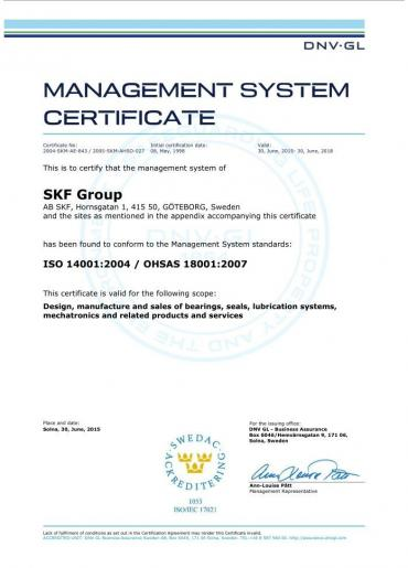 Iso 14001: 2004 / OHSAS 18001: 2007